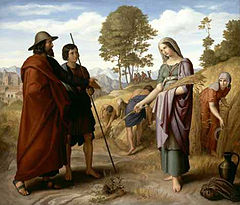 Julius Schnorr von Carolsfeld: Ruth in Boaz's Field, 1828